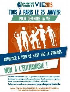Tous à Paris le 25 janvier 2015